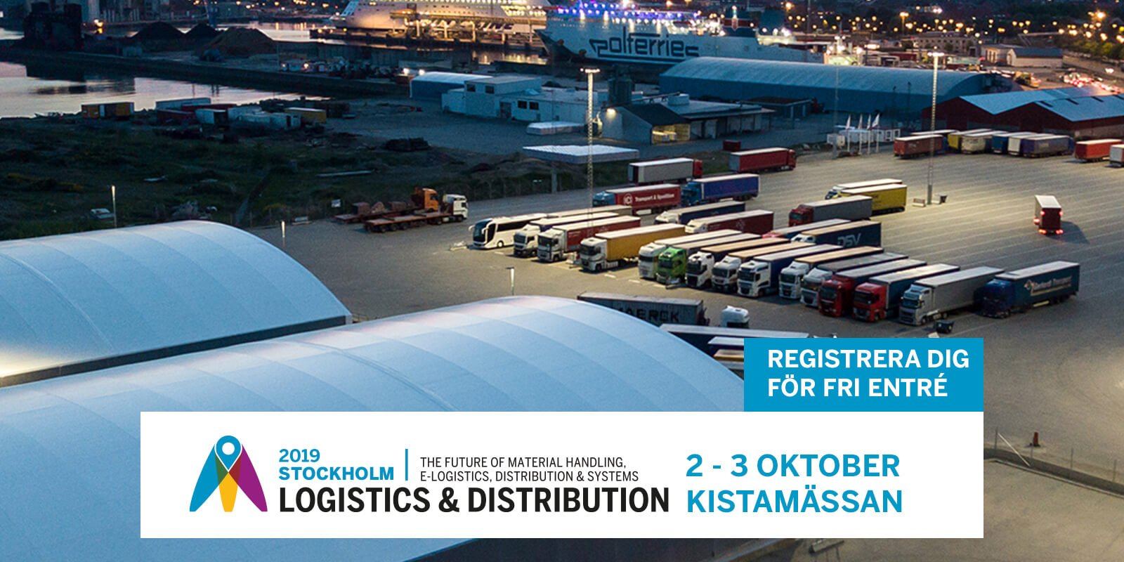 Logistics & Distribution i Stockholm 2019!